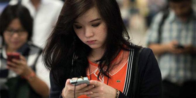 Pengguna smartphone. © Hindustantimes.com