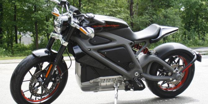 Moge Harley Davidson elektrik. ©2014 Daily Mail