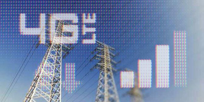 4G-LTE. ©Merdeka.com