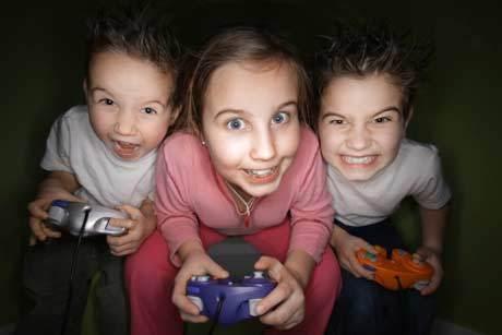 Ilustrasi Anak-anak sedang bermain game ©gettyimages