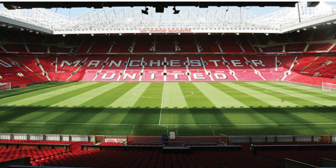 Old Trafford Stadium. ©bestwestern.co.uk
