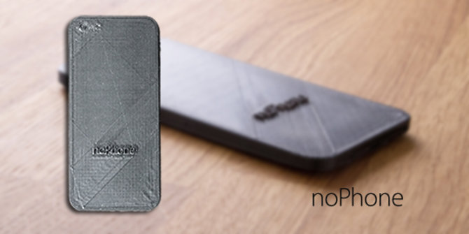 noPhone. © Nophone.eu