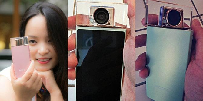 Smartphone selfie baru Sony. ©Engadget