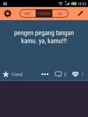Screenshot Aplikasi Legatalk