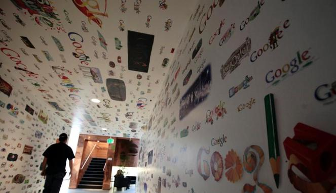 Kantor Google di Los Angeles  ©(REUTERS/ Lucy Nicholson)