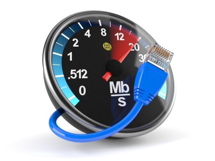 ilistrasi internet Speed