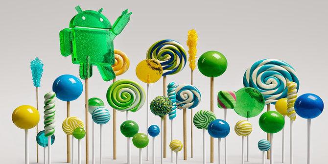 Android 5.0 Lolipop.  ©Googleblog.blogspot.com